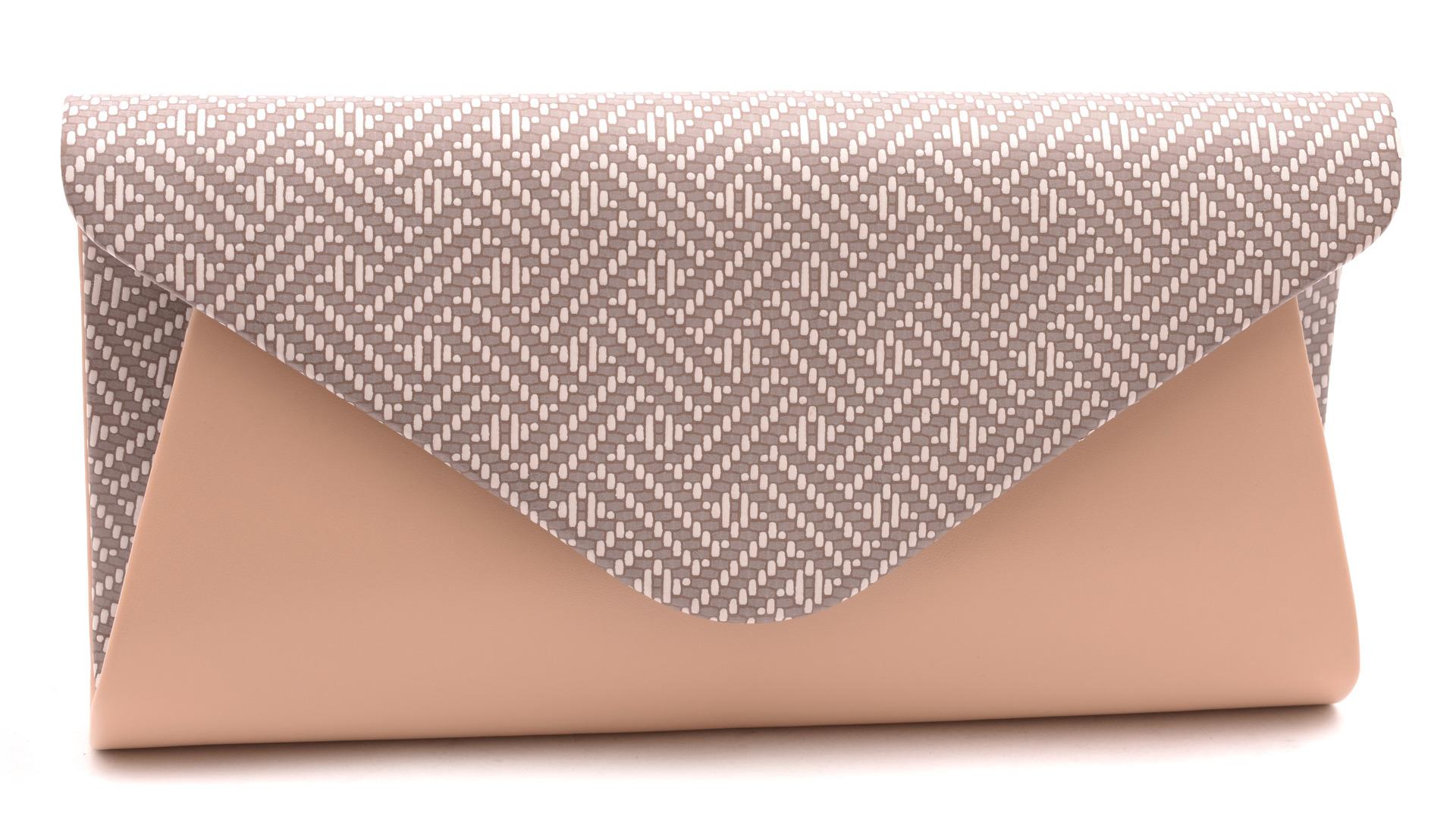 Mercucio - Velkoobchod kožené galanterie - Plesové kabelky - Dámská kabelka  béžová vzor 2296 c6733238231